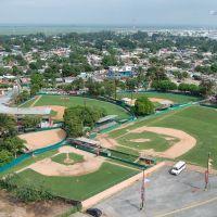 Ligas Pequeñas baseball fields. Minatitlan, Минатитлан