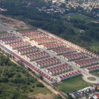 """Eduardo Soto"" oilworker´s houses complex. Minatitlan, Минатитлан"