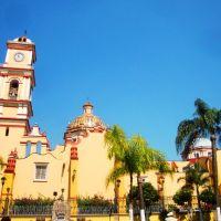 A un costado de la catedral de San Miguel, Оризаба