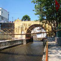 Puente colgante sobre Rio Orizaba, Оризаба
