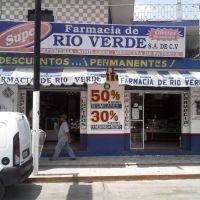 FARMACIA RIO VERDE EQ1, Пануко