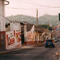 Calle Pino Suarez, Папантла (де Оларте)