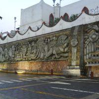 mural de papantla, Папантла (де Оларте)