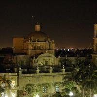 Catedral de Veracruz desde el Hotel Colonial, Поза-Рика-де-Хидальго