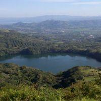 Panoramica desde el cerro del venado a Laguna encantada., Сан-Андрес-Тукстла