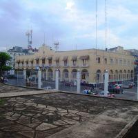 Vista del Palacio municipal desde Catedral de San Andrés, Сан-Андрес-Тукстла