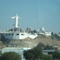 Cristo desde Dist. Los Insugentes, TJ, Тихуатлан