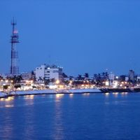 Boulevard de Tuxpan en tarde-noche, Тукспан-де-Родригес-Кано