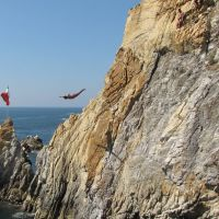 Les Falaises dAcapulco : pris en plein vol !, Акапулько