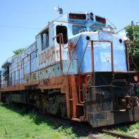 Maquina 10047 varada en Iguala, Игуала