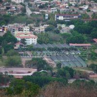 Lienzo Charro y zona Oriente de la Ciudad, vista desde el Asta Bandera, Cerro del Tehuehue, Игуала