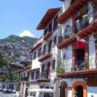 Arquitectura, Taxco, Такско-де-Аларкон