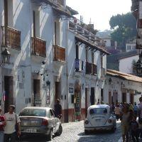 Calles del centro, Taxco, Такско-де-Аларкон