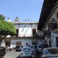 La plaza, Такско-де-Аларкон
