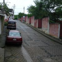 calle maria de la luz rumbo a la prepa, Телолоапан