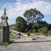 Puente sobre rio Lerma., Акамбаро