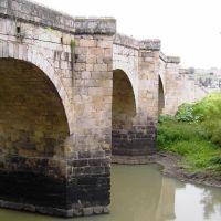 Acambaro Gto, puente de piedra, Акамбаро
