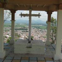capilla Sta.Cruz,(vista posterior)., Акамбаро