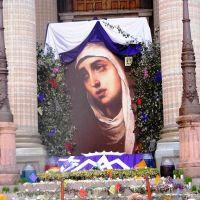 Guanajuato, Altar, Viernes de Dolores, Escalinatas Teatro Juarez, Валле-де-Сантъяго
