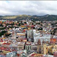 Panorámica de Guanajuato, Gto (Entrar para ampliar), Валле-де-Сантъяго