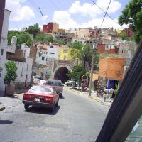 Entrando a los Tuneles de Guanajuato, Гуанахуато