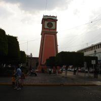 Reloj en plaza Miguel Hidalgo, Ирапуато