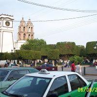 Reloj_jardín torres Tercera orden, Ирапуато