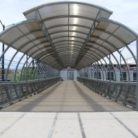 Puente del Estadio León, Леон (де лос Альдамас)