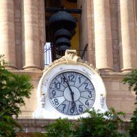 Reloj de Luis Long de 1885 en la Catedral de la Madre Santísima de la Luz en León Guanajuato, Леон (де лос Альдамас)