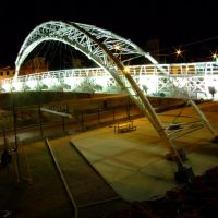 Puente Cruz de Cantera por la Madrugada, Леон (де лос Альдамас)