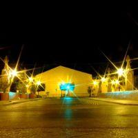 Puente Barón y Morales (Coecillo) en la Noche, Леон (де лос Альдамас)