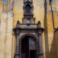PORTADA LATERAL, PARROQUIA ANTIGUA, SALAMANCA, GUANAJUATO, Саламанка