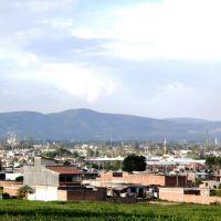 Salamanca desde el libramiento sur, Саламанка