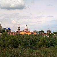frente a las iglesias, Саламанка