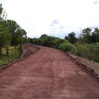 camino al puente en obra, Саламанка
