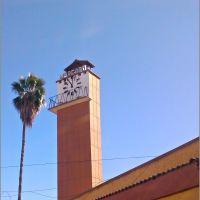 Torre del Reloj, en el Mercado de Gómez Palacio, Durango, Гомес-Палацио