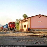 Vista de la estación de Gomez Palacio, Гомес-Палацио