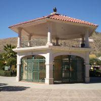 Kiosco de la plaza de Canatlan, Dgo. Mex., Канатлан