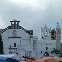 la iglesia de Zacualtipan, Гуэхутла-де-Рейес