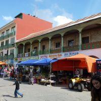 tianguis en Zacualtipan, Иксмикуилпан