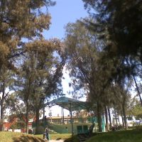 parque pasteur kiosco, Пачука (де Сото)