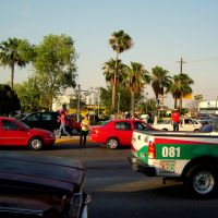Street at Moclova Mexico, Монклова