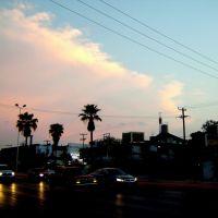 Red Sky at Evening Monclova Mexico, Монклова