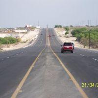 Entrando a Piedras Negras por Carretera Federal 2, Пьедрас-Неграс