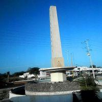 166<Monumento en Tres Caminos, Sabinas, Салтилло