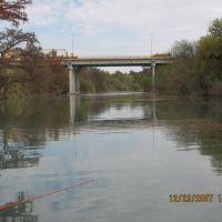 vista de puente carretera 57 desde rio sabinas, Салтилло