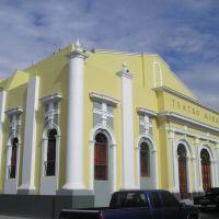 Teatro Hidalgo desde calle independencia, Колима