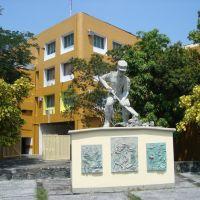 Monumento al soldado - Por Calzada Galván, Колима