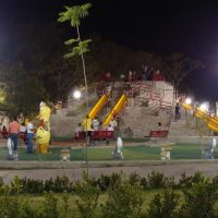 Nuevas resbaladillas en el parque de la Piedra Lisa, Колима