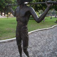 """""""El Tubero"""" serie escultorica de los oficios de Colima, Col México creada por el Sr. Gil Garea, Колима"""